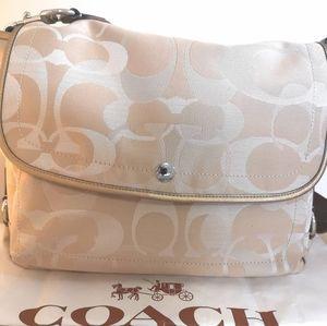 Coach Crossbody Monogram Bag
